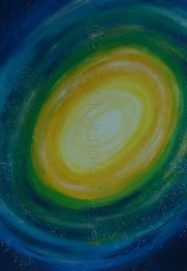 Die Galaxy mit dem Zentrum der Kraft