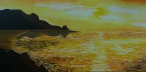 Sonneuntergang in Manacore